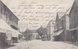 Valdoie 90 - Arrêt Des Tramways - Précurseur 1904 Cachet Postal Delle Giromagny - Valdoie
