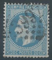 Lot N°27905  Variété/n°29, Oblit GC 3997 TOURS (36), 2 De 20C, S De POSTES, Filet OUEST - 1863-1870 Napoleon III With Laurels