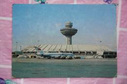 ARMENIA. YEREVAN Airport - Aeroport - Plane - Avion  . OLD  PC 1982 - Stamped Postcard - Aerodromes