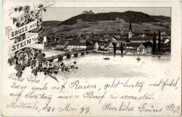 Gruss Aus Stein Am Rhein - Litho - SH Schaffhausen