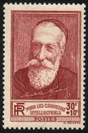 FRANCE 1938 - Yv. 380 ** Variétés Cadre Cassé  Cote= 3,50 EUR - Chômeurs Intellectuels : Anatole France ..Réf.FRA26913 - Francia