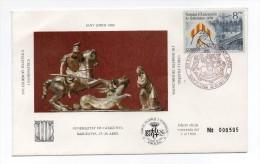Carta Con Matasello Exposicion Sant Jordi - 1981-90 Cartas