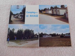 """Camping LE RIVAGE ; """"MORSALINE 50630 QUETTEHOU"""" - Other Municipalities"""