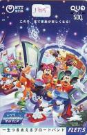 Carte Prépayée Japon * DISNEY  (1315)  Japan Prepaid Card * DISNEY BB ON - Disney