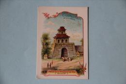 IMAGE - CHROMO, Publicité Blédine JACQUEMAIRE, Porte De La Citadelle De Hué ( ANNAM) - Sonstige