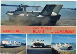 Cpm PAUILLAC LE NAVIPLANE BLAYE LA MARQUE (le Naviplane N 300 ) - Pauillac