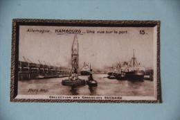 CHROMO- Chocolat SUCHARD - Allemagne, Hambourg, Une Vue Sur Le Port - Suchard