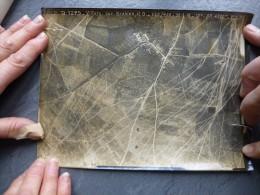 Guerre 14-18  Photo Aérienne Villers-aux-Erables  Juin 1918, Altitude 4200 M, Format 17X22; Ref 750 - Guerre, Militaire