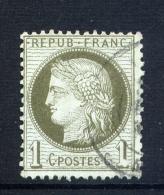 Superbe N° 50 Variété D'impression Sur Le 1 De Droite - 1871-1875 Cérès