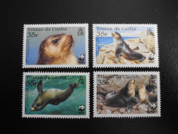 Tristan Da Cunha 2004 - WWF Fur Seals - Tristan Da Cunha