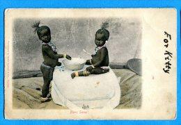 FR598, Bébé Africain, Africa, Afrique, Enfant, Kid , Circulée  Sous Enveloppe - Babies