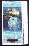 Brazil 2000 Antarctica 2v Se-tenant ** Mnh (21072) - Unclassified