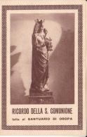 Oropa - Ricordo Della Santa Comunione - Comunioni