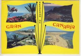 Recuerdo De GRAN CANARIA - Multi View, Aspectos Diverso,  Nice Stamp - Gran Canaria