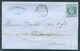 1868 France Gare De Lyon Brasserie De Kochaine Malterie Caves Glacieres Entire -  Pontarlier - 1849-1876: Période Classique