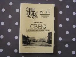 CEHG Revue N° 23 Gedinne Régionalisme Lieux Dits Rienne Wallon De La Semoy Travaux De Filles Clarinval - Belgium