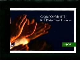 IRELAND/EIRE - 2007  RTE PERFORMING GROUPS PRESTIGE BOOKLET  MINT NH - Libretti