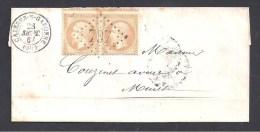 Haute Garonne - G.C. 797  Et Cachet Type 15 CAZERES -S- GARONNE - Marcophilie (Lettres)