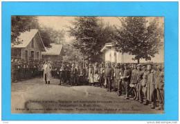 Allemagne- Prisonniers-alliés  -zouaves, Tirailleurs  Anglais Et Français-l'appel -beau Plan Animé-Wahn 1914 - Guerra 1914-18