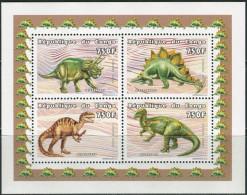 Congo 1999. Michel #1645/48 Klb.-A MNH/Luxe. Dinosaurs. (TS02) - Congo - Brazzaville