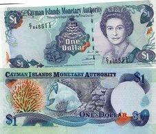 CAYMAN ISLANDS 1 DOLLAR - UNC ELIZABETH II 2006