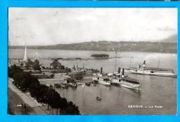 OV1.1154, Genève, La Rade, CGN, Bateaux, No649 Circulée 1912 - GE Genève