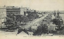 ALGERIE BONE le port et le quai warnier