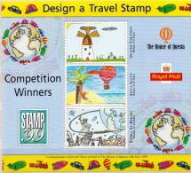Great Britain Design A Travel Stamp SS - Cinderellas