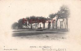 ALGERIE - DJELFA -  Rue Boisguilbert - 2 scans