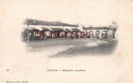 ALGERIE - DJELFA -  Magasins mozabites - 2 scans