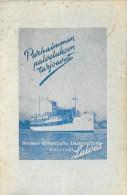 POCHETTE D'EMBARQUEMENT CROISIERE FINLAND LINE
