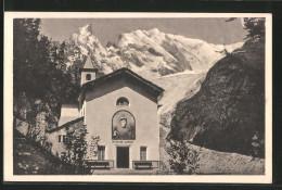 Cartolina Courmayeur, Notre Dame De Guérison - Italia