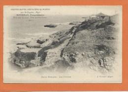 """Alg�rie*** Alger - Saint Eug�ne - Publicit� """"Grand H�tel des Bains Romains""""Bournat propri�taire -les falaises"""