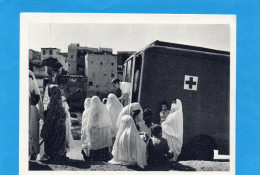 Service Santé-Cp F M-BACONNIER-ambulance Militaire -infirmières Croix Rouge Et Femmes Musulmanes - Marcophilie (Lettres)