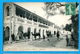 OV1.1157, Le Grand H�tel, Chameau, Dromadaire, Cal�che, no111 anim�e circul�e sous enveloppe 1913
