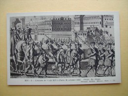 L'Entrée De Louis XIV à Paris Le 21 Octobre 1652. - History