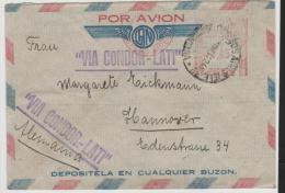 ARG182/ Buenos Aires Per LATI Nach Deutschland, Zensiert - Luftpost