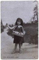 Pipe Lights, Penny A Box - Little Girl Match Seller - G D & D - 1907 - Other