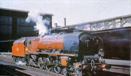 Carlisle Citadel Railway Station Stanier Pacific No.46256 - Railway