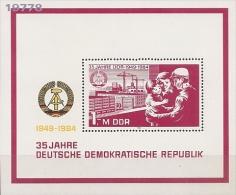 1984 - YT 76 - 77 ** - Val Cat: 4.00 Eur. - DDR
