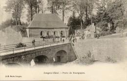 CPA - LONGWY-HAUT (54) - Aspect De La Porte De Bourgogne En 1900 - Longwy