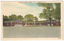 Triangle Motor Court, U.S. 17, Edenton, N.C. - Etats-Unis