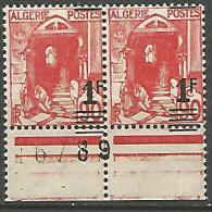 ALGERIE   N° 158A SURCHARGE DEPLACE  NEUF***LUXE   SANS CHARNIERE  / MNH - Nuevos