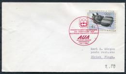 1964 Austria Olympic Innsbruck - Zurich AUA First Flight Cover - First Flight Covers