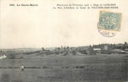 52 PARC D'ARTILLERIE AU CAMP DE VILLIERS-SUR-SUIZE - France