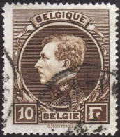 Belgique 1929 COB 289, 10 F Montenez Oblitéré - 1929-1941 Grand Montenez