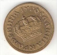 Yugoslavia  2 Dinara 1938   KM 20   Xf  Large Crown - Yugoslavia
