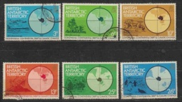 British Antarctic Territory 1982 Gondwana 6v Used (21083) - Brits Antarctisch Territorium  (BAT)