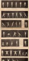 54Ace  Dépliant 3 Volets Et Demi Sport Gymnastique 3 Exercices Physiques Decomposés - Gymnastics