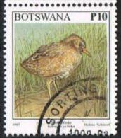 Botswana SG869 1997 Birds 10p Good/fine Used - Botswana (1966-...)
